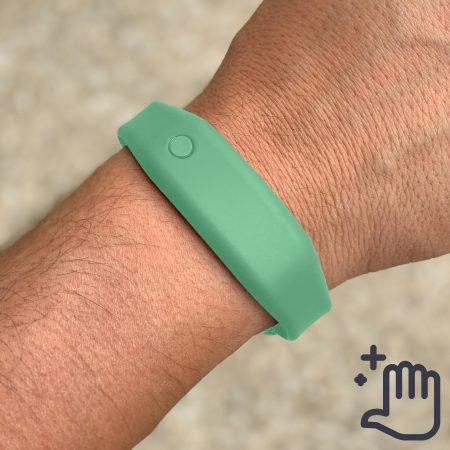 Hand Sanitizer Bracelet Men Lifestyle Adventure Green