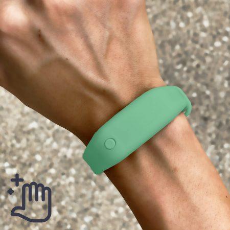 Hand Sanitizer Bracelet Women Lifestyle Adventure Green