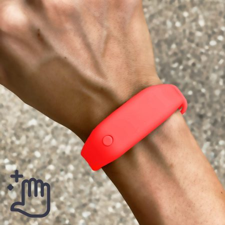 Hand Sanitizer Bracelet Women and Youth Lifestyle Summer Red