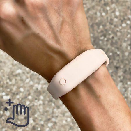 Hand Sanitizer Bracelet Women Lifestyle Birthday Nude