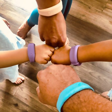 Hand Sanitizer Bracelets - fun for the whole family