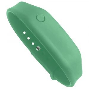 hand sanitizer bracelet - antibacterial wrist band adventure green