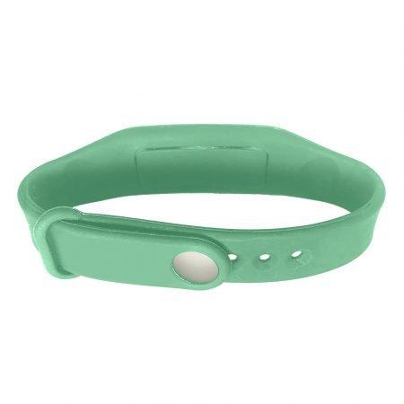 hand sanitizer bracelet - antibacterial wrist band adventure green
