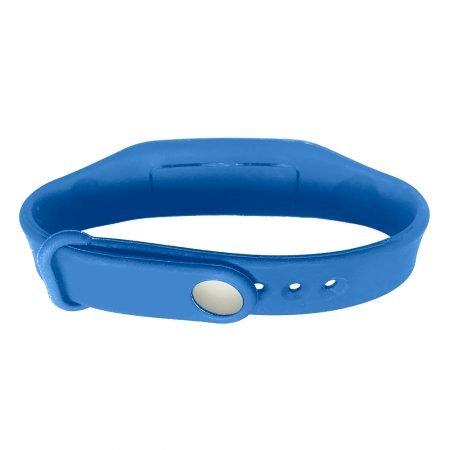 hand sanitizer bracelet - antibacterial wrist band american blue