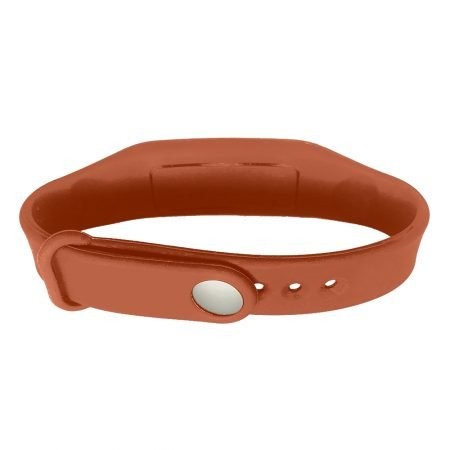 hand sanitizer bracelet - antibacterial wrist band caramel coffee