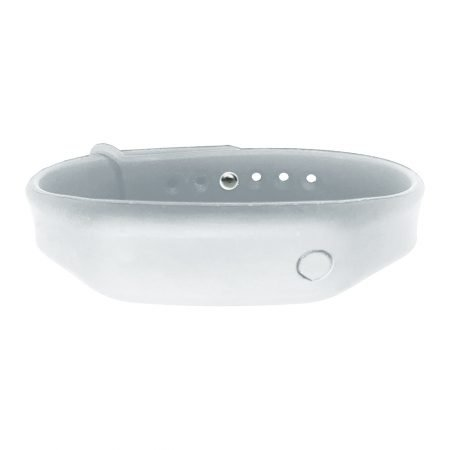 hand sanitizer bracelet - antibacterial wrist band icy white