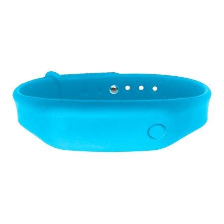 hand sanitizer bracelet - antibacterial wrist band malibu blue