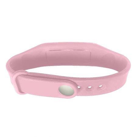 hand sanitizer bracelet - antibacterial wrist band rose petal pink