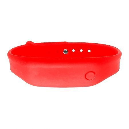 hand sanitizer bracelet - antibacterial wrist band summer red