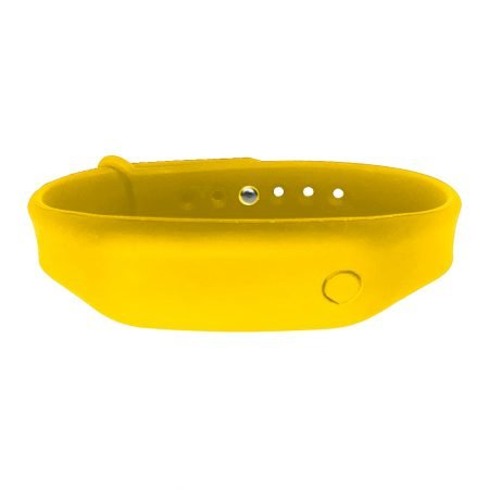 hand sanitizer bracelet - antibacterial wrist band sunny yellow